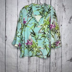 Tommy Bahama 3/4 button down
